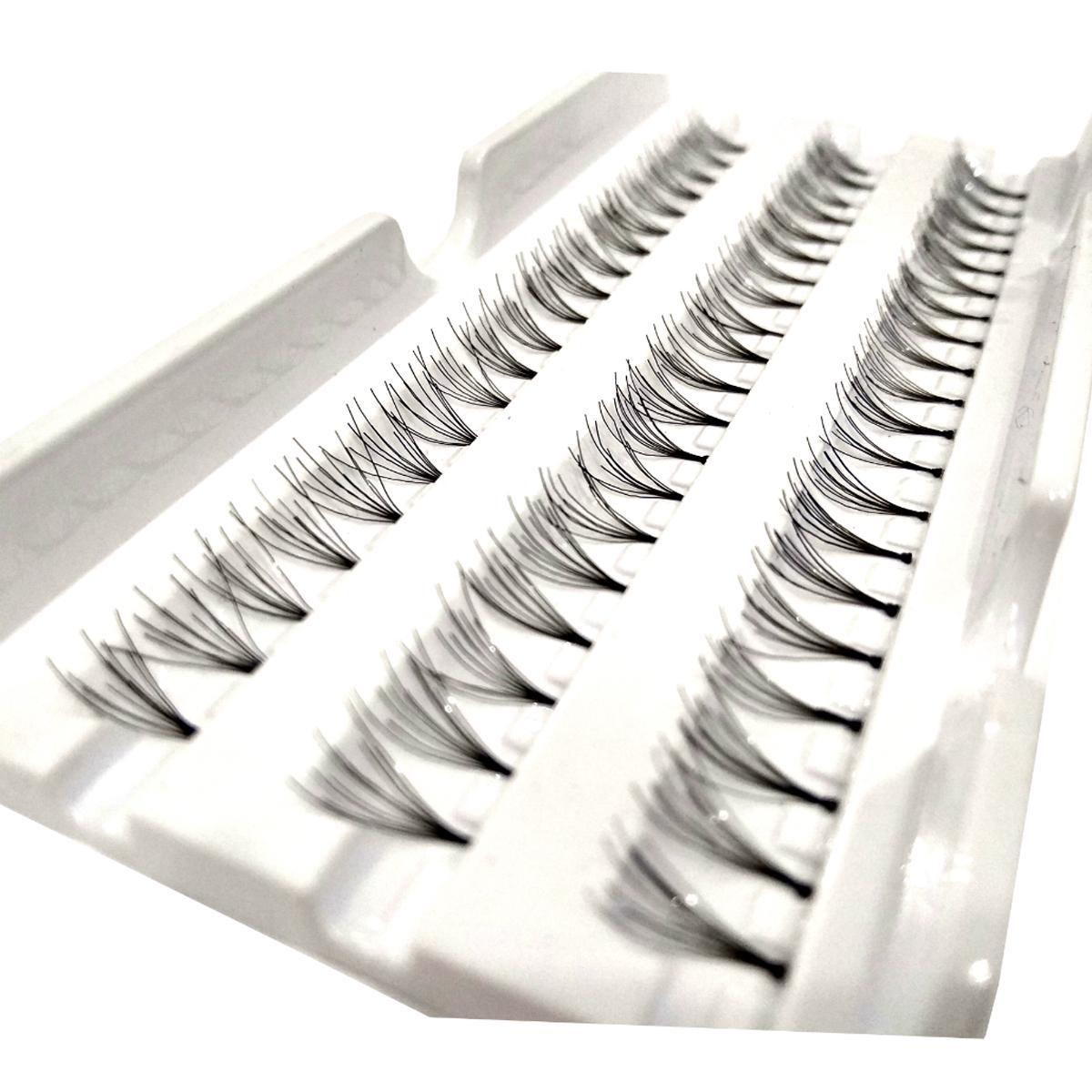 Bulu Mata Tanam CDL Eye Lash Eye Lashes Human Hair Export Quality 60 Pc - Black