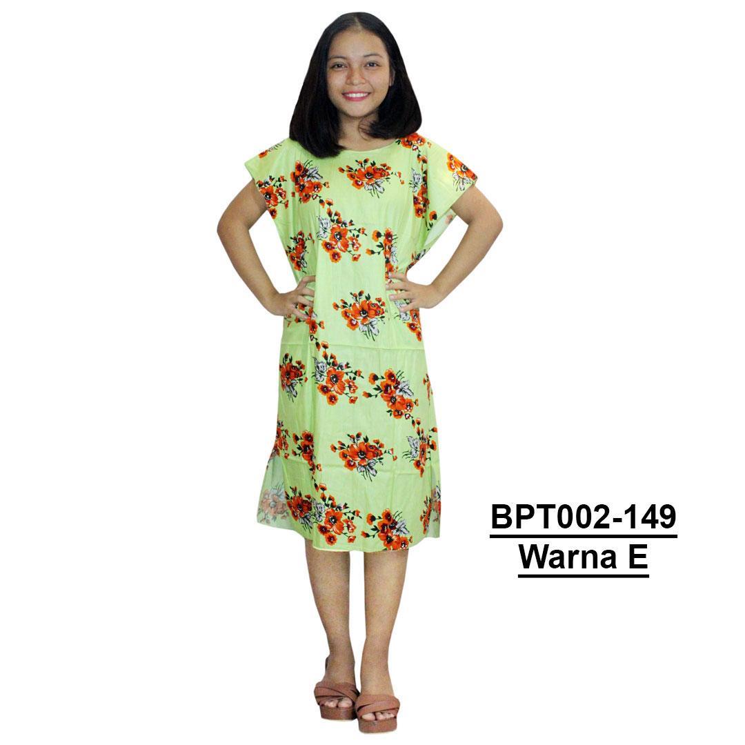 Midi, Daster Midi, Dress Santai, Baju Tidur, Piyama, Atasan Batik (BPT002-149) Batik Alhadi