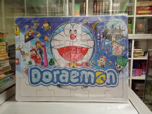 PROMO Puzzle / Puzle / Pazel Doraemon - belajar mengasah otak anak TERLARIS