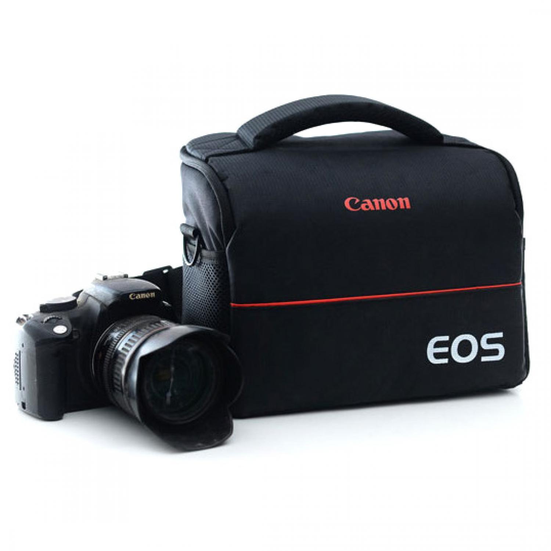 Tas kamera dslr/Tas kamera mirrorless/Tas kamera canon/Tas kamera dslr canon/Tas kamera ransel/Tas kamera sony/Tas kamera nikon/Tas kamera eiger EOS Tas Selempang Kamera DSLR for Canon Nikon