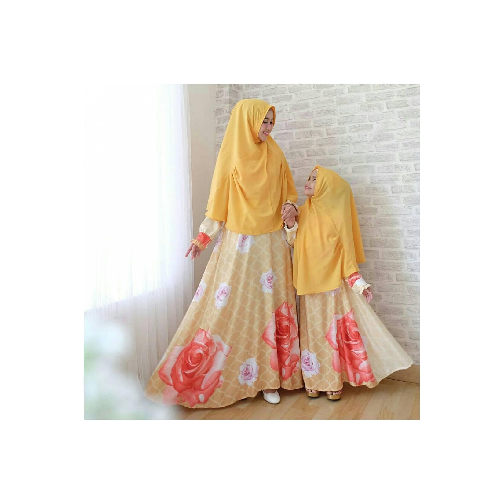 01. couple syari mk jamilah kuning 260.000 Bahan maxmara luxury. Lingk