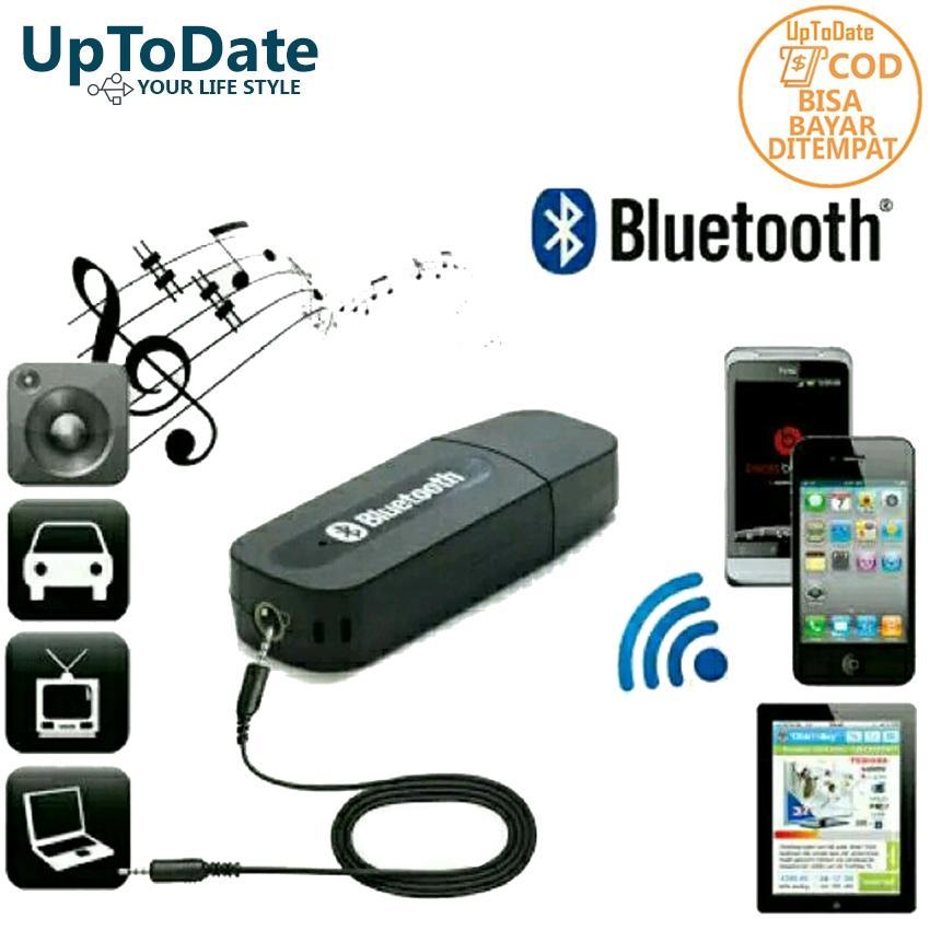 Usb bluetooth audio UPTODATE UPPK Wireless Bluetooth Music Audio Receiver Adapter Car AUX Home Audio System