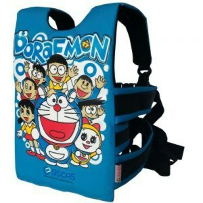 Doraemon - Sabuk boncengan anak Terlaris ||| JOK motor anak | sarung| hidrolik| sandaran  belakang | kulit| custom | nmax | cover| jaring| vario | beat | sandaran| cover| variasi | c70 | mio | cb | rx king |