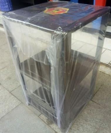 Promo Rak Serbaguna Full Plate Coating Meja Dispenser Kaki Kompor Magic Com Original
