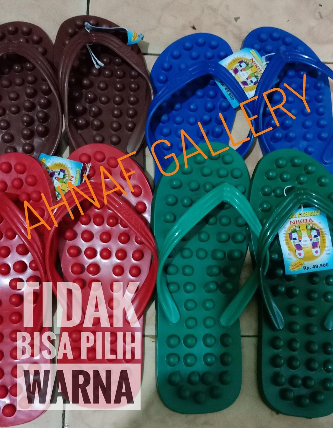 Buy Sell Cheapest Sendal Refleksi Nikita Best Quality Product Kesehatan Sandal Size 43 44