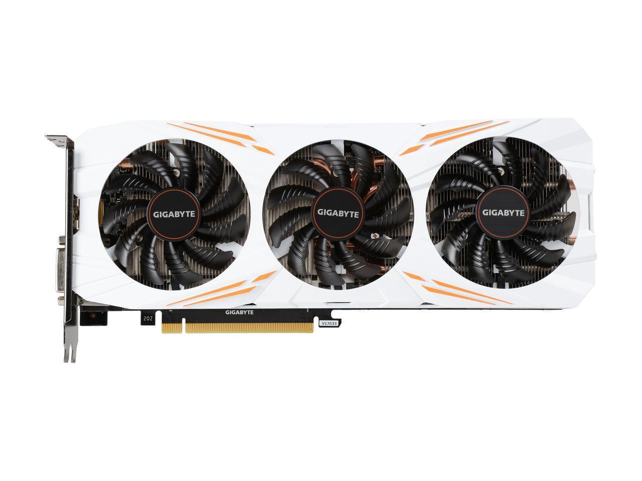 Gigabyte VGA GeForce® GTX 1080 Ti Gaming OC 11G  [GV-N108TGAMING OC 11GD] - Putih