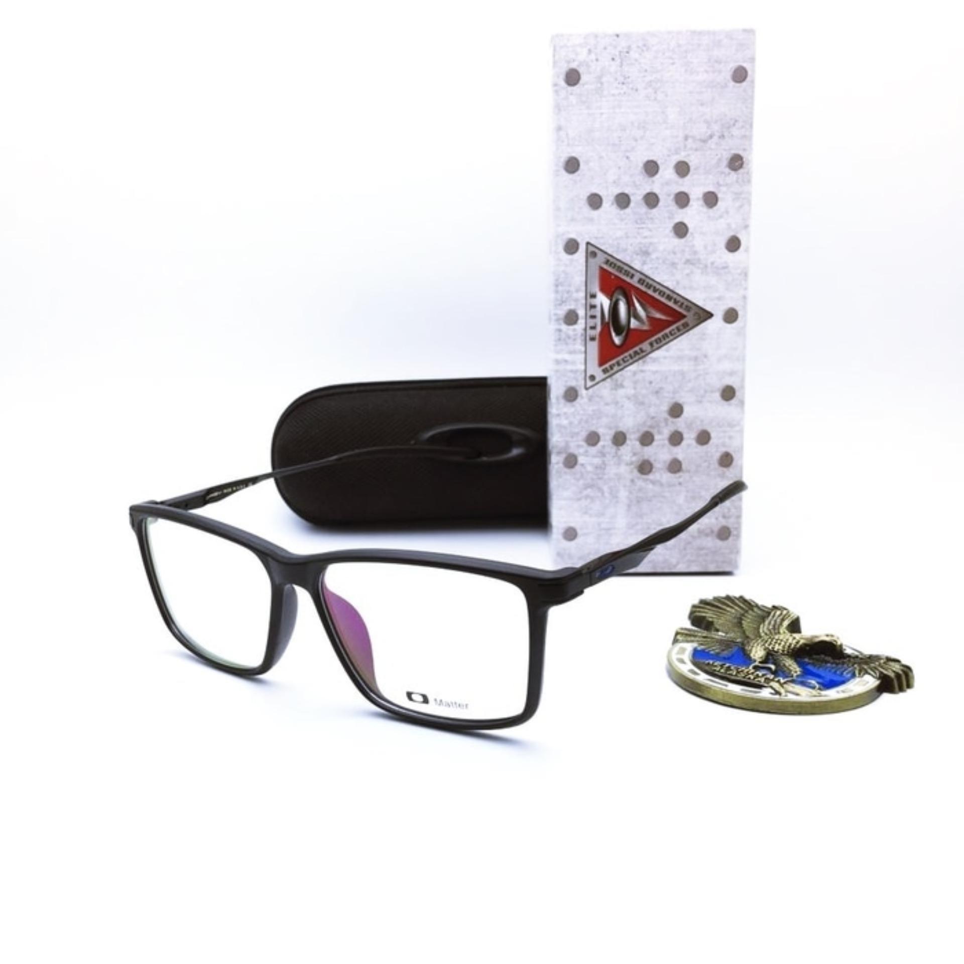 Paket Photochromic Kacamata R-1084 Okley Lensa Anti Radiasi Minus sampai 5.50 , Cylinder Di atas 2