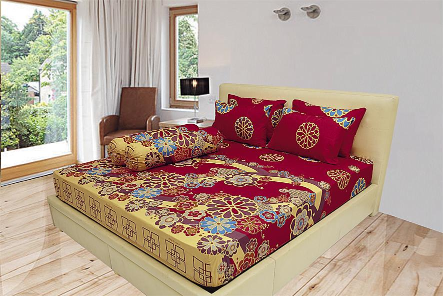 sprei lady rose king bantal 2 (180x200)