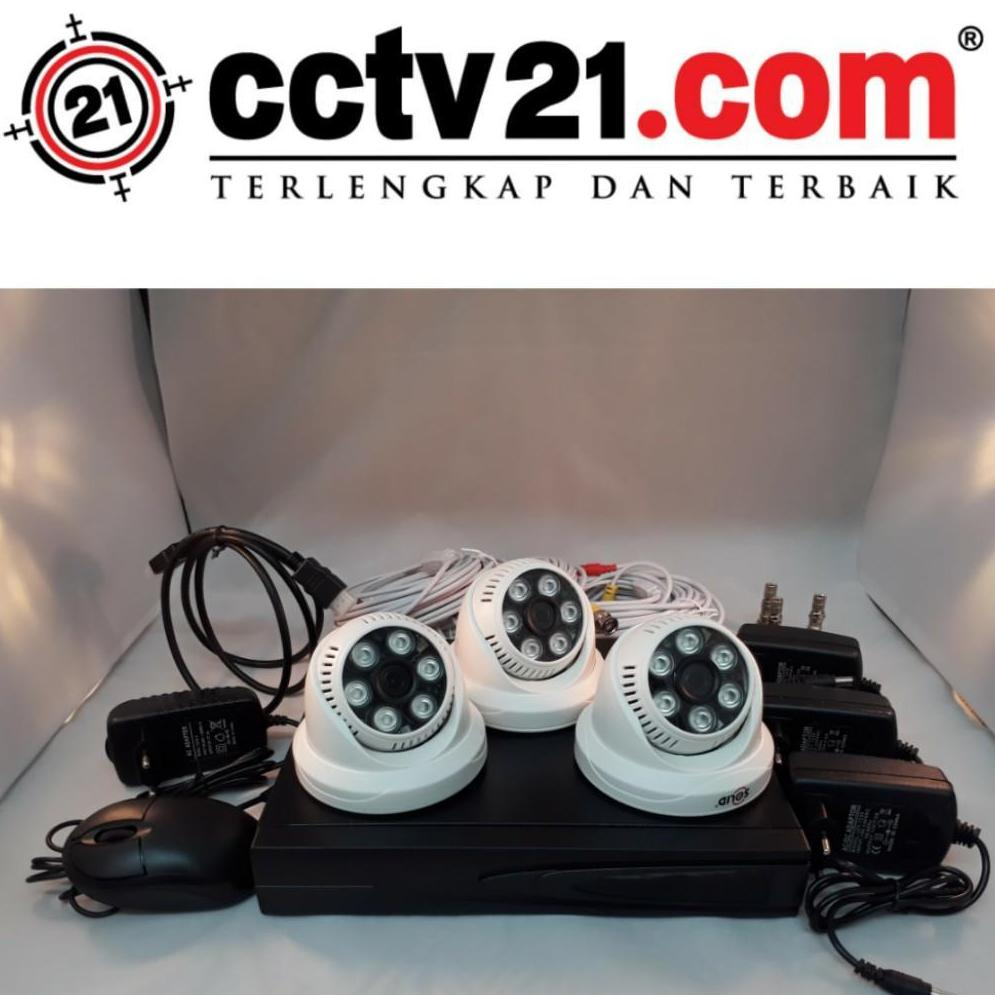 PROMO PAKET  3 CAMERA INDOOR 960P - DVR 4 CH