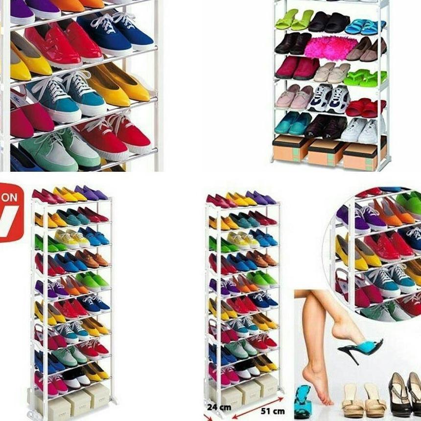 Anabelle Amazing Shoes Rack / Rak Sepatu 10 Susun