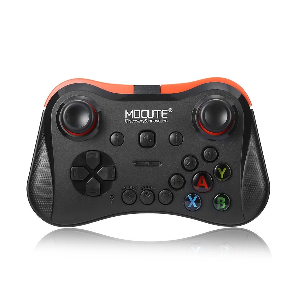 Mocute 056 Wireless Gamepad Bluetooth Pubg Controller Joystick untuk IOS dan Android Sistem/Laptop Kontroler Game Hitam