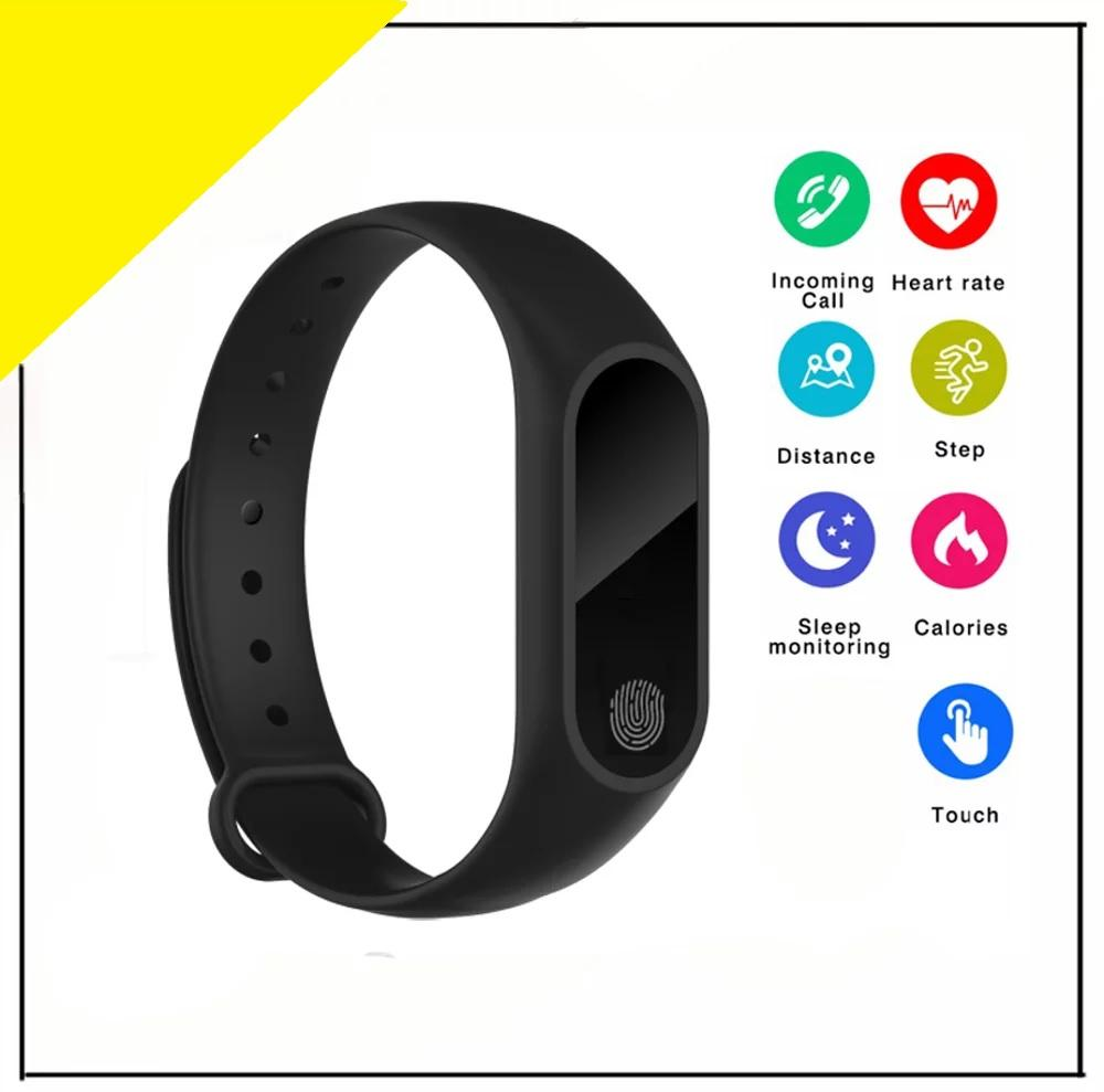 Buy Sell Cheapest M2 Heart Smartband Best Quality Product Deals Bluetooth Smart Bracelet Mi Band 2 Look Rate Monitor Wristband Fitness Tracker Smartwatch Watch Sport