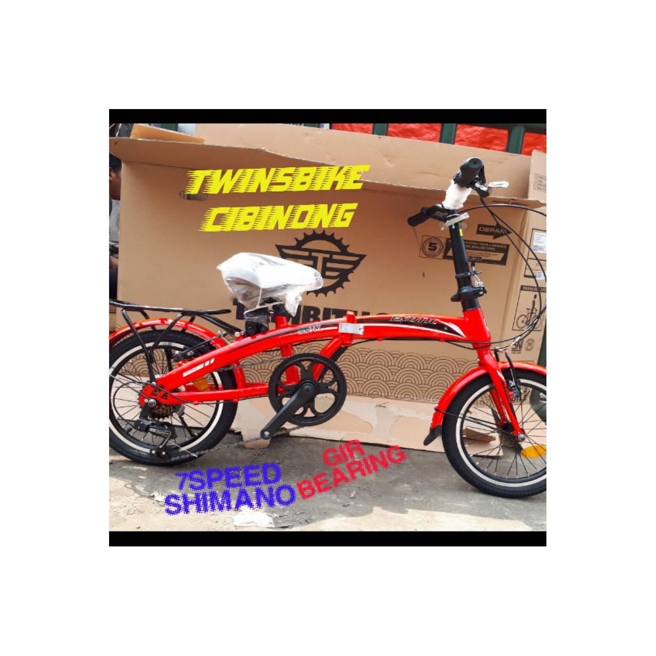 Sepeda 16 Lipat Exotic 2026MK 7speed Shimano gear Bearing