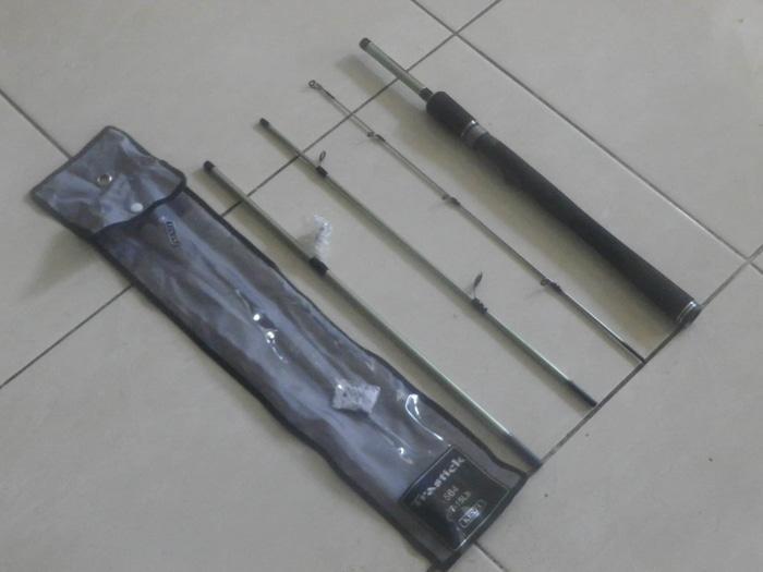 HOT SPESIAL!!! Joran Kenzi Trastick 165 cm Sambung 4 - e2Lcya