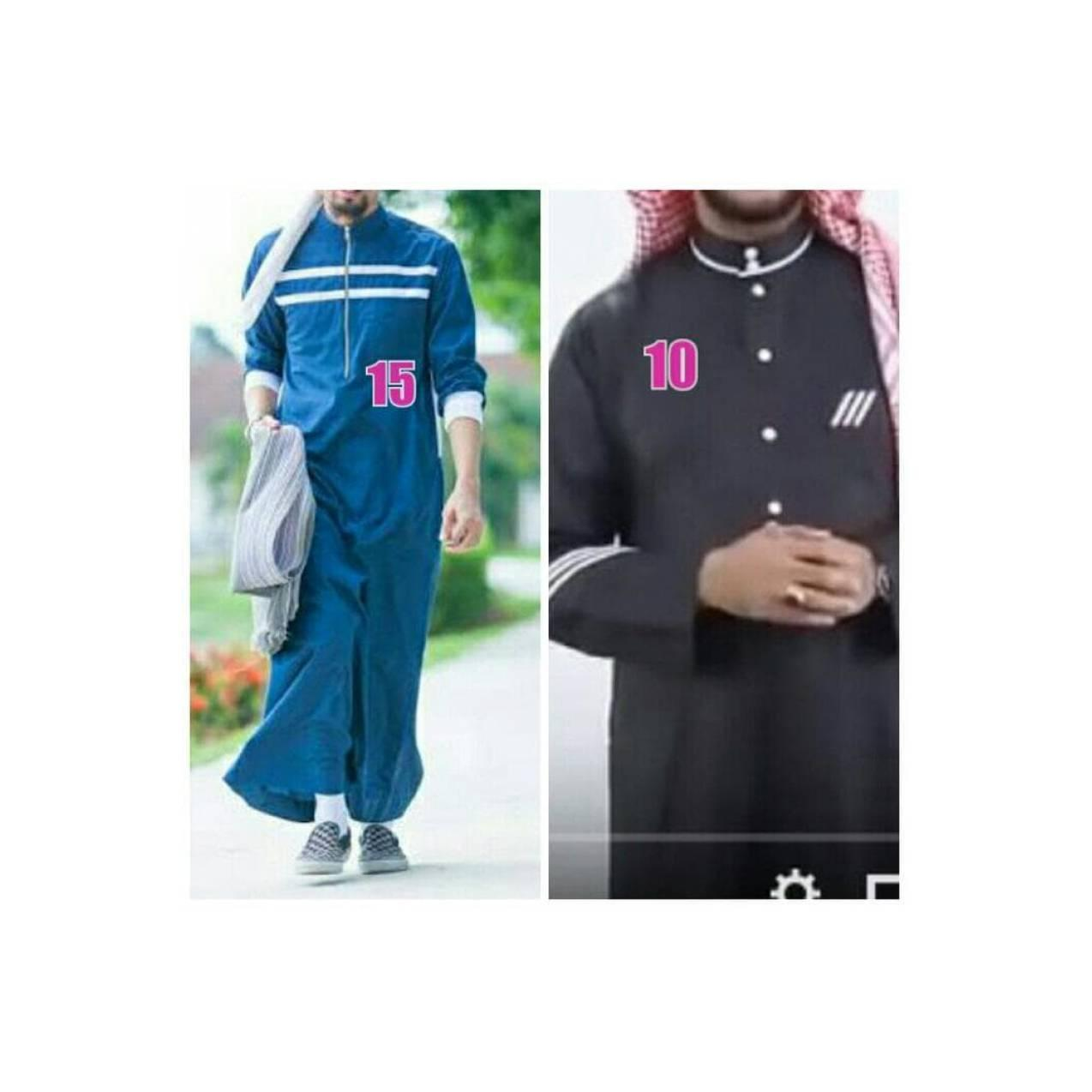 Baju Gamis / Fashion Wanita / BAJU GAMIS COWOK ARAB