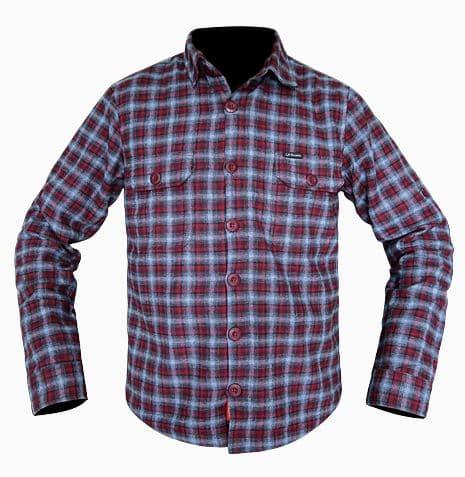 Jaket Flanel Motor RESPIRO Vintro Red ( Biker Touring & Daily Riding ) - PFYzR0