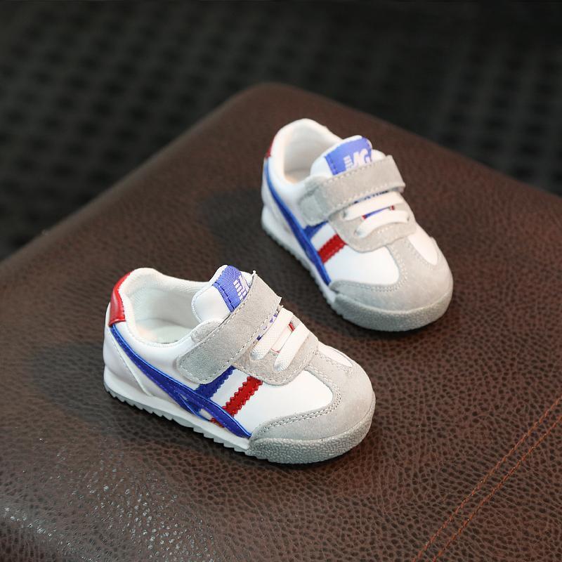 Musim semi dan musim gugur bayi Sepatu Kulit asli sepatu belajar jalan  Pijakan empuk Anti Selip b9f0509cce