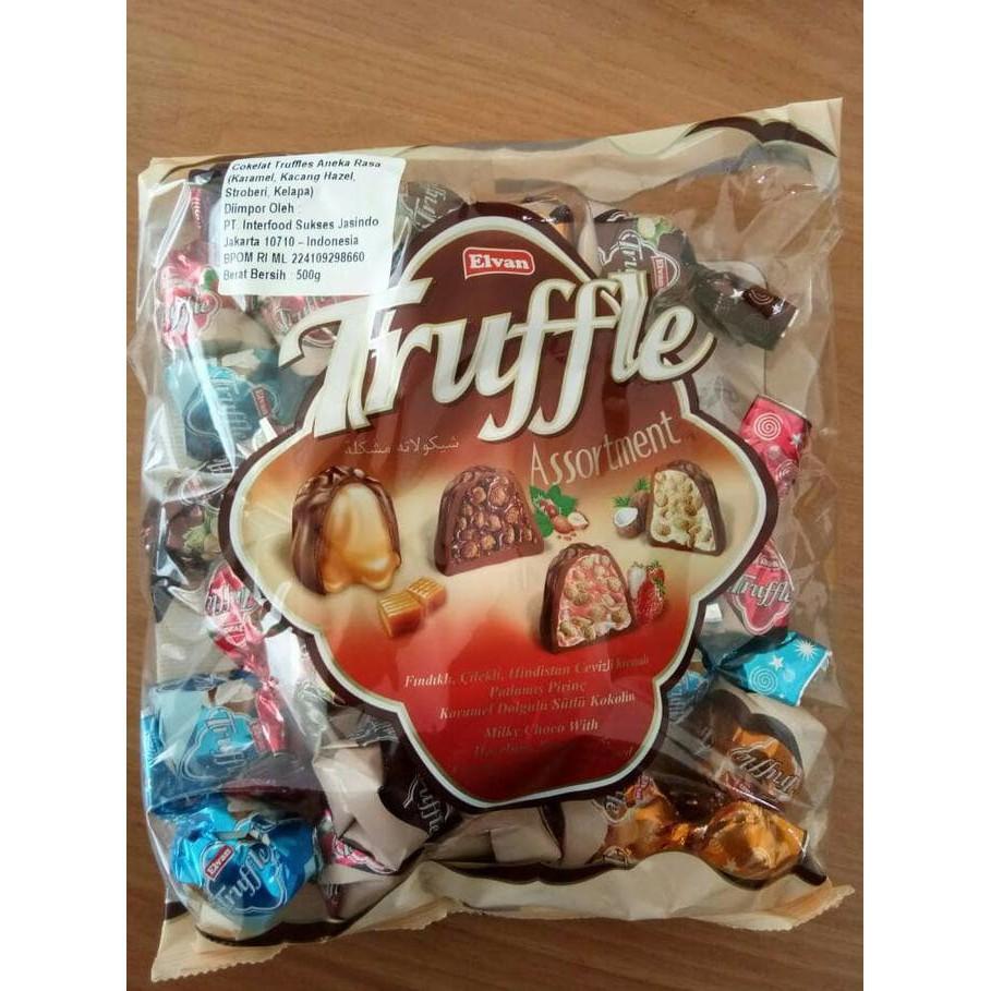 (500 Gram) Coklat Elvan Truffle Made In Turkey