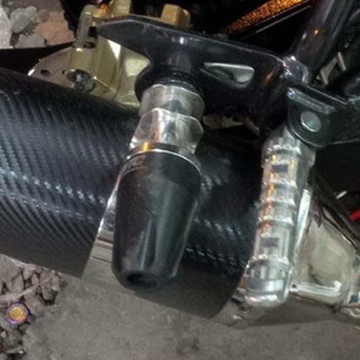 Pelindung knalpot  anti crush Motor Aksesoris kenalpot muffler WTC