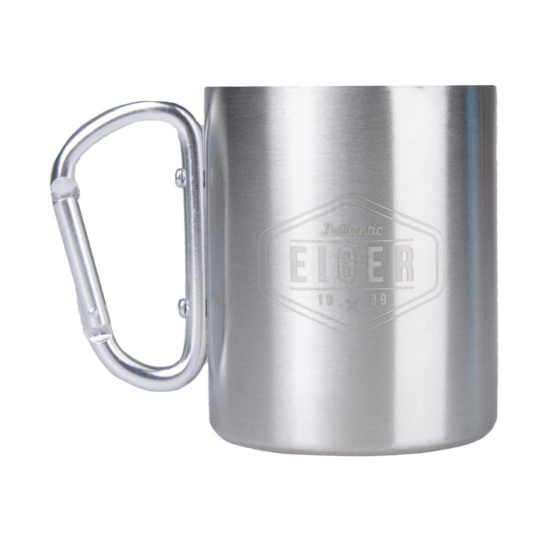 Eiger 1989 Carabiner Mug 300ML - Silver