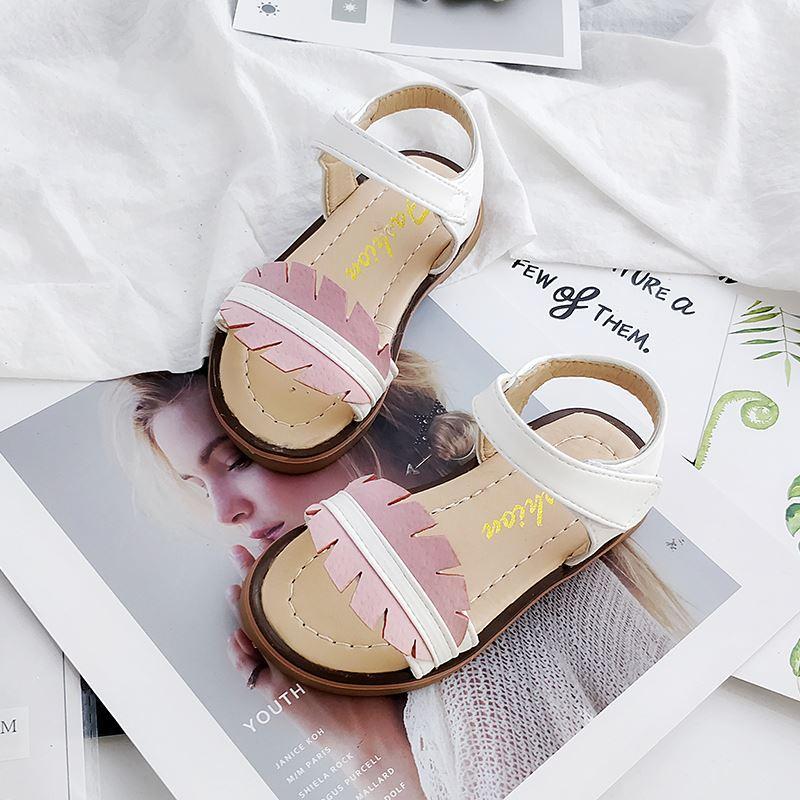 Anak Prempuan Sandal Summer 2018 Model Baru Versi Korea Bayi Perempuan Sandal Summer Sepatu Putri Musim