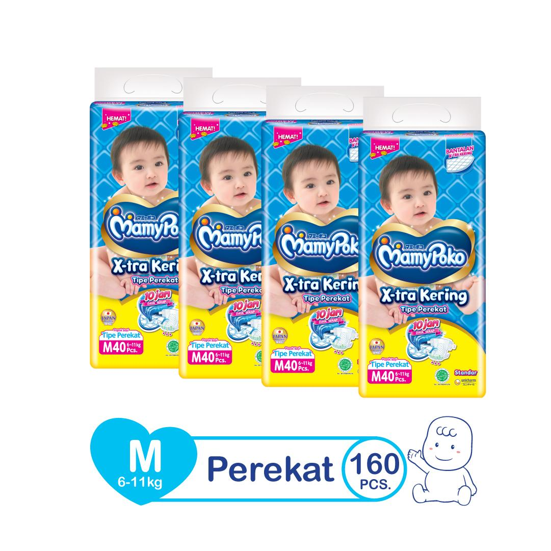 Popok Sekali Pakai Terlaris Sweety Bayi Comfort Gold Tape M 48 Mamypoko Open Standart M40 Karton Isi 4