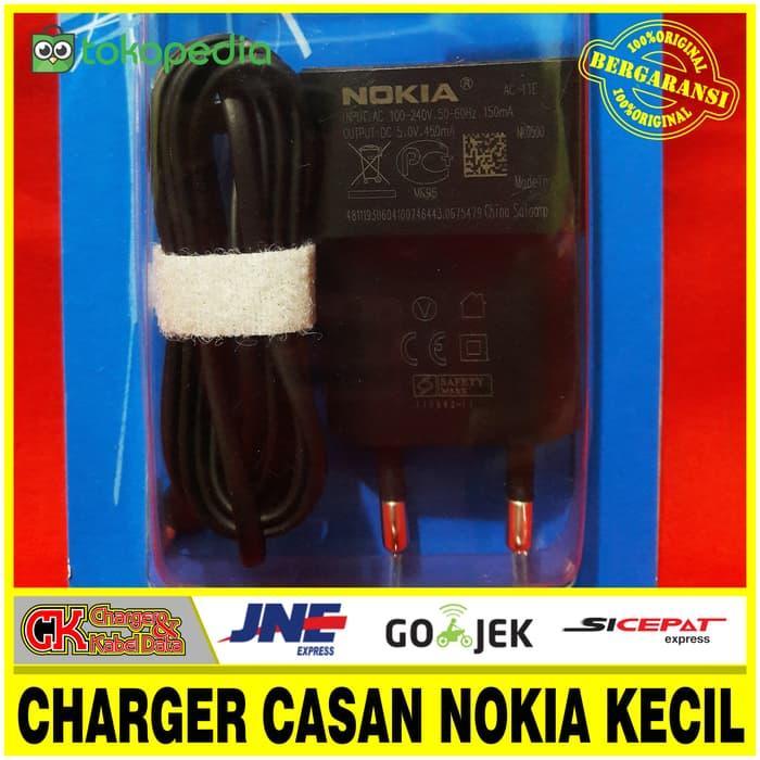 Harga Spesial!! Charger Casan Nokia Kecil Original 100% Express Music 5V-450Ma - ready stock