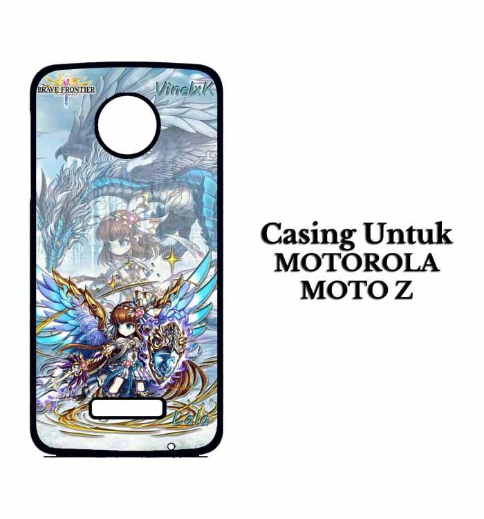 Casing Motorola Z brave frontier fix Custom Hard Case Cover