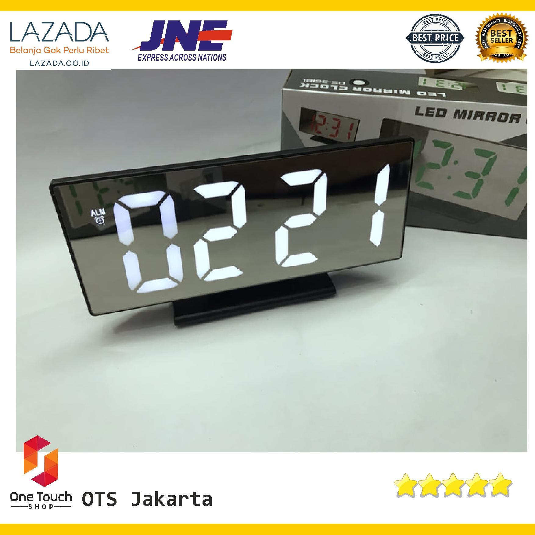 Jam Weker Led Digital Wood Clock Jk 859 Spec Dan Daftar Harga Meja 808 Cokelat Muda