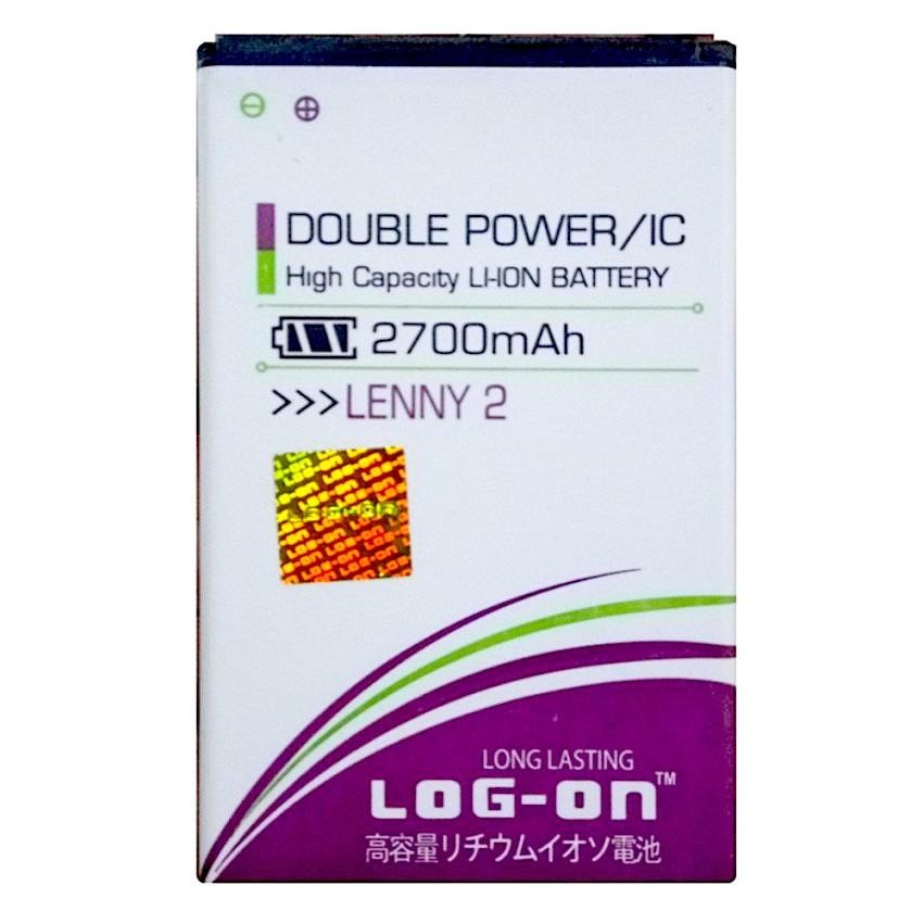 Log On Battery For WIKO LEnny 2 2700mAH Double Power