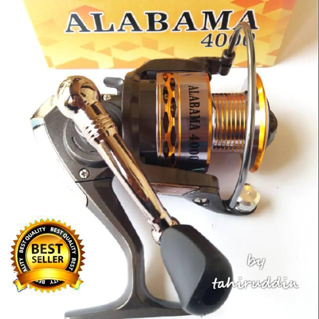 Reel EXORI ALABAMA 4000 Power Handle Variasi Tidak Ada