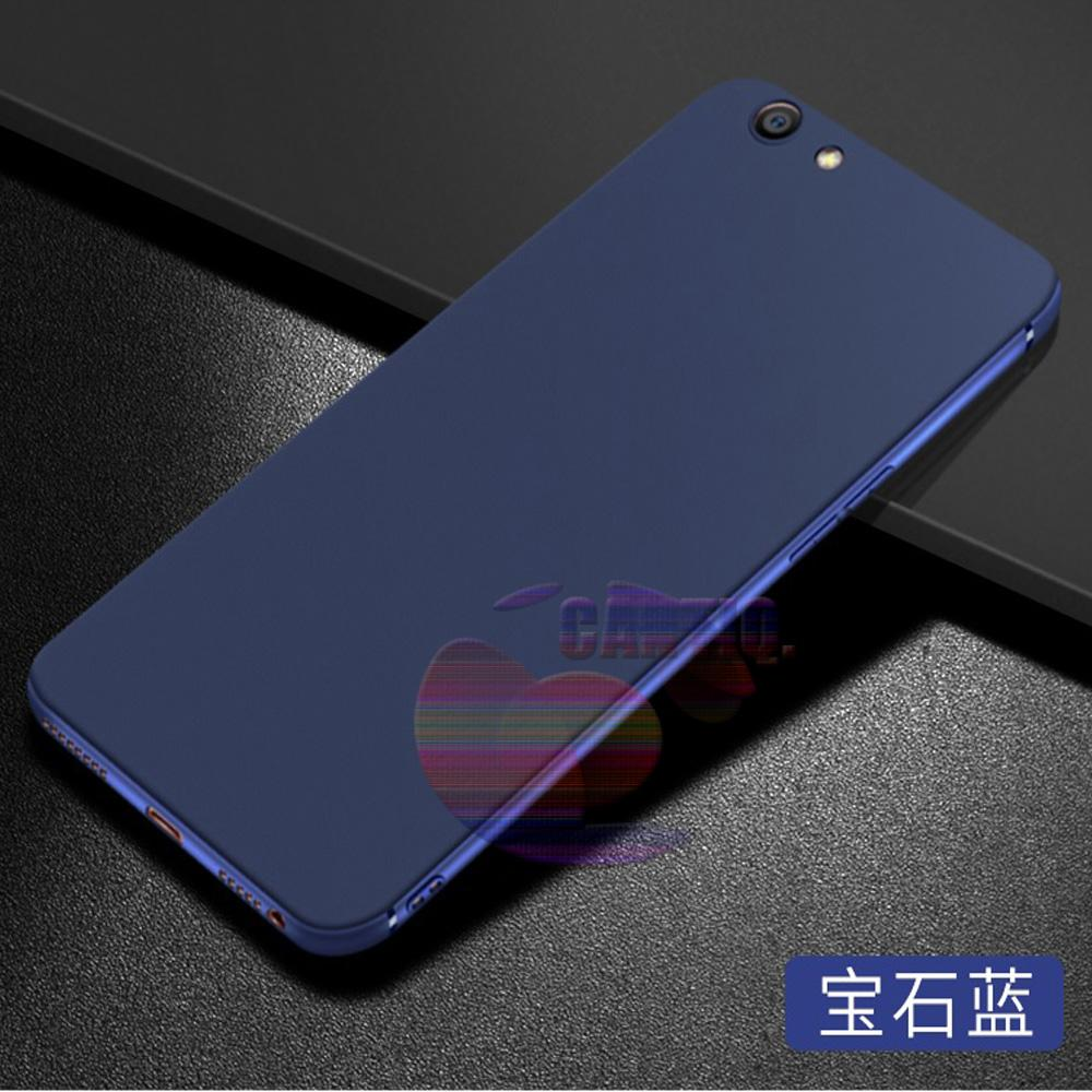 Lize Jelly Case Oppo A83 Candy Rubber Skin Soft Back Case / Softshell / Silicone Oppo A83 / Jelly Case / Ultrathin Oppo A83 / Case Lize Huawei / Casing Hp / Baby Skin Case - Navy / Biru Tua