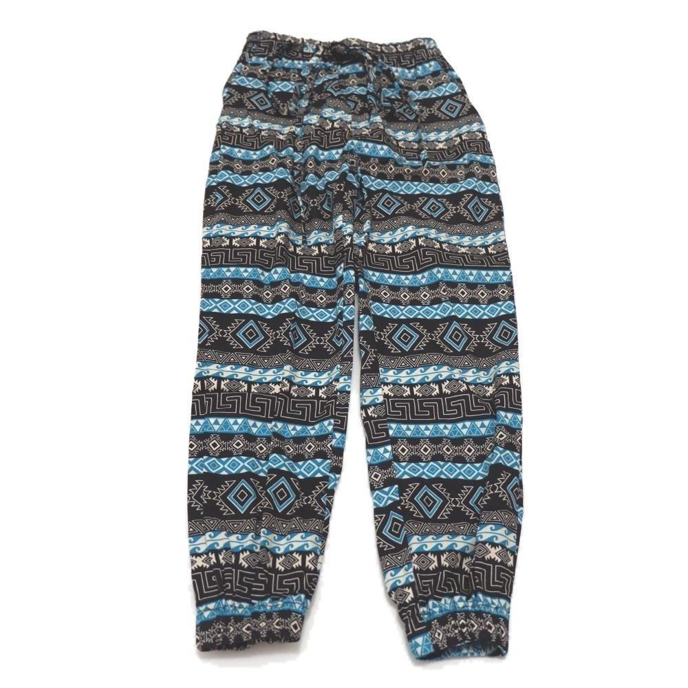 Celana Panjang Tribal Green/Anak Perempuan Usia 4-12 tahun