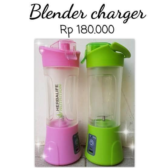 Herbalife_#blender charger blender portable blander multifungsi