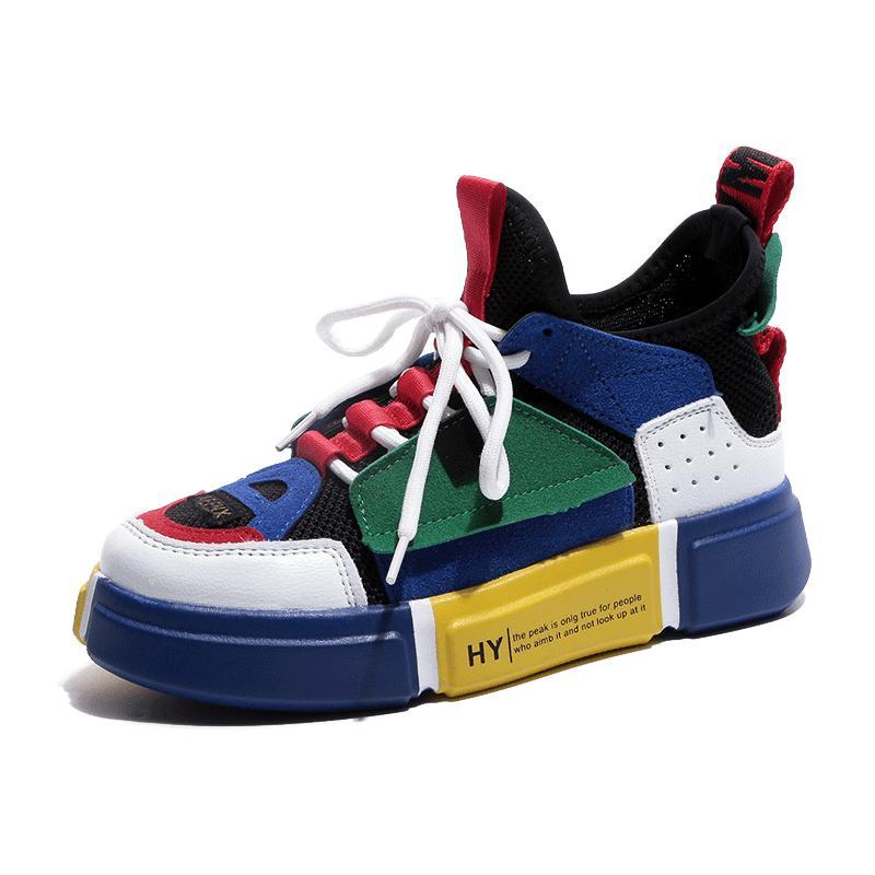 Sepatu Pasangan Musim semi dan musim panas 2018 model baru Gaya Korea netral  jala Merah sepatu 4cdb0d5353