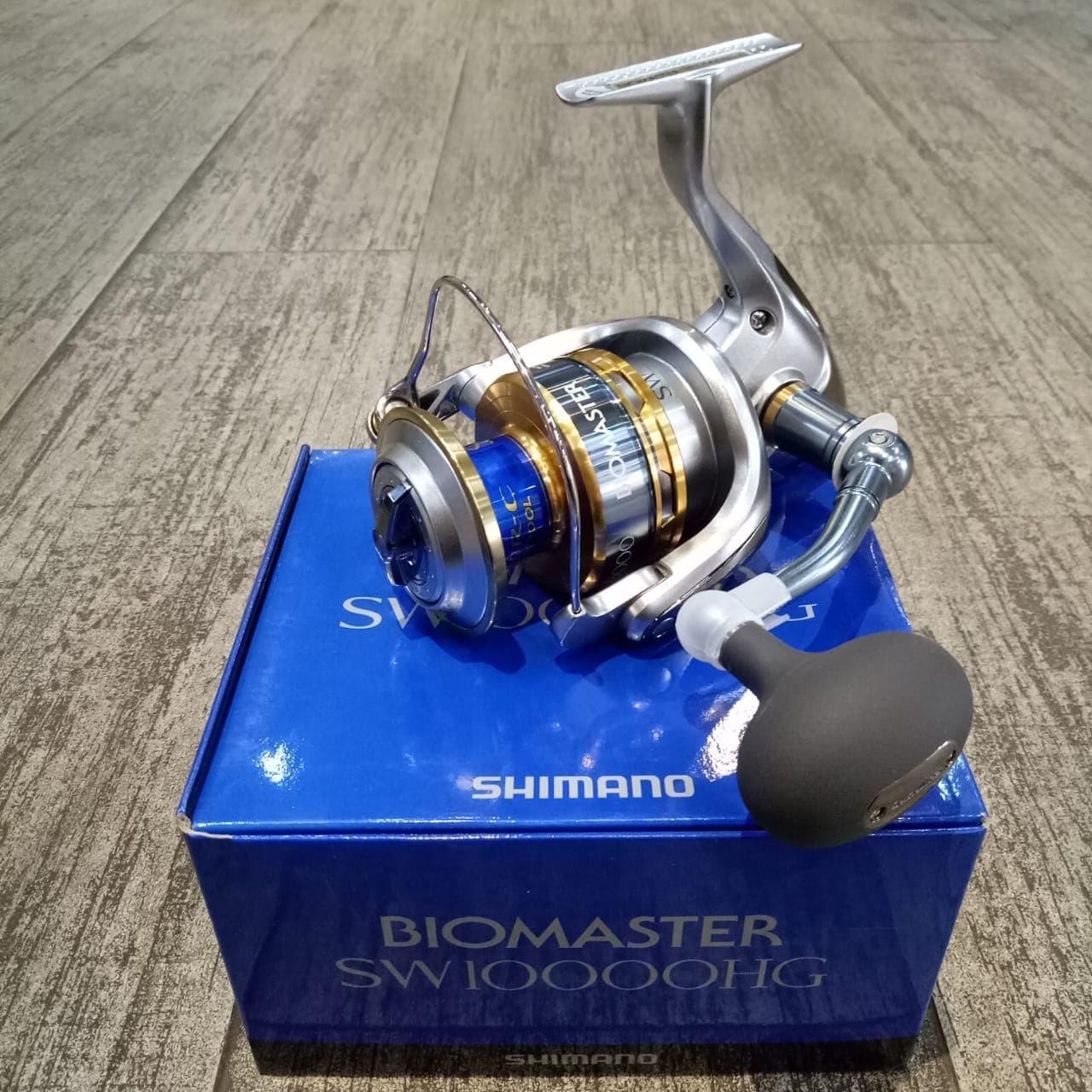 Reel Shimano Biomaster SW 10000HG 61BB ( Stock Terbatas)
