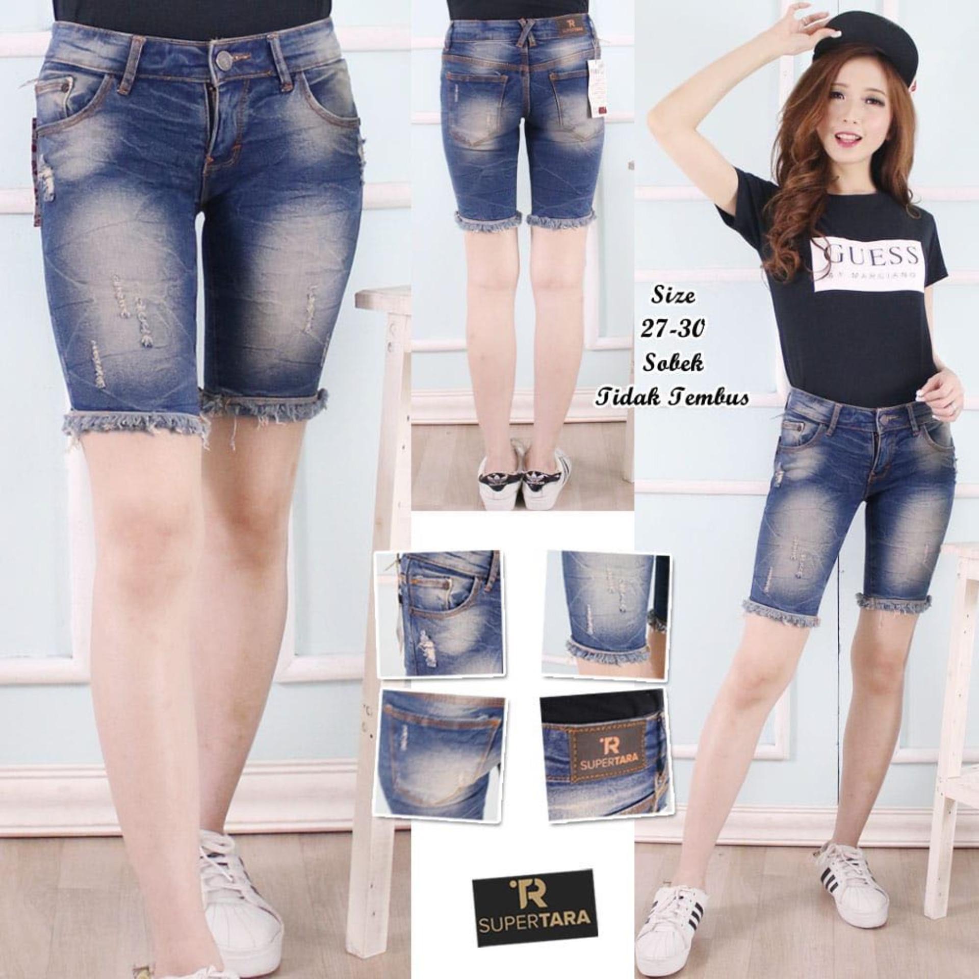 OZY - Celana Jeans Wanita 3/4 Wosing - Sofjeans