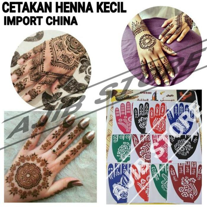 Buy Sell Cheapest Cetakan Henna Tangan Best Quality Product Deals