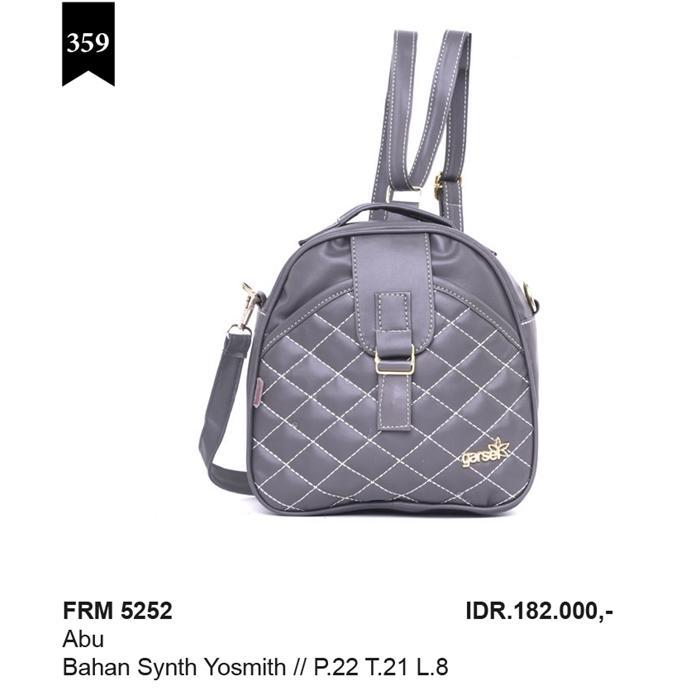 Tas Ransel WanitaGarsel Fashion FRM 5252