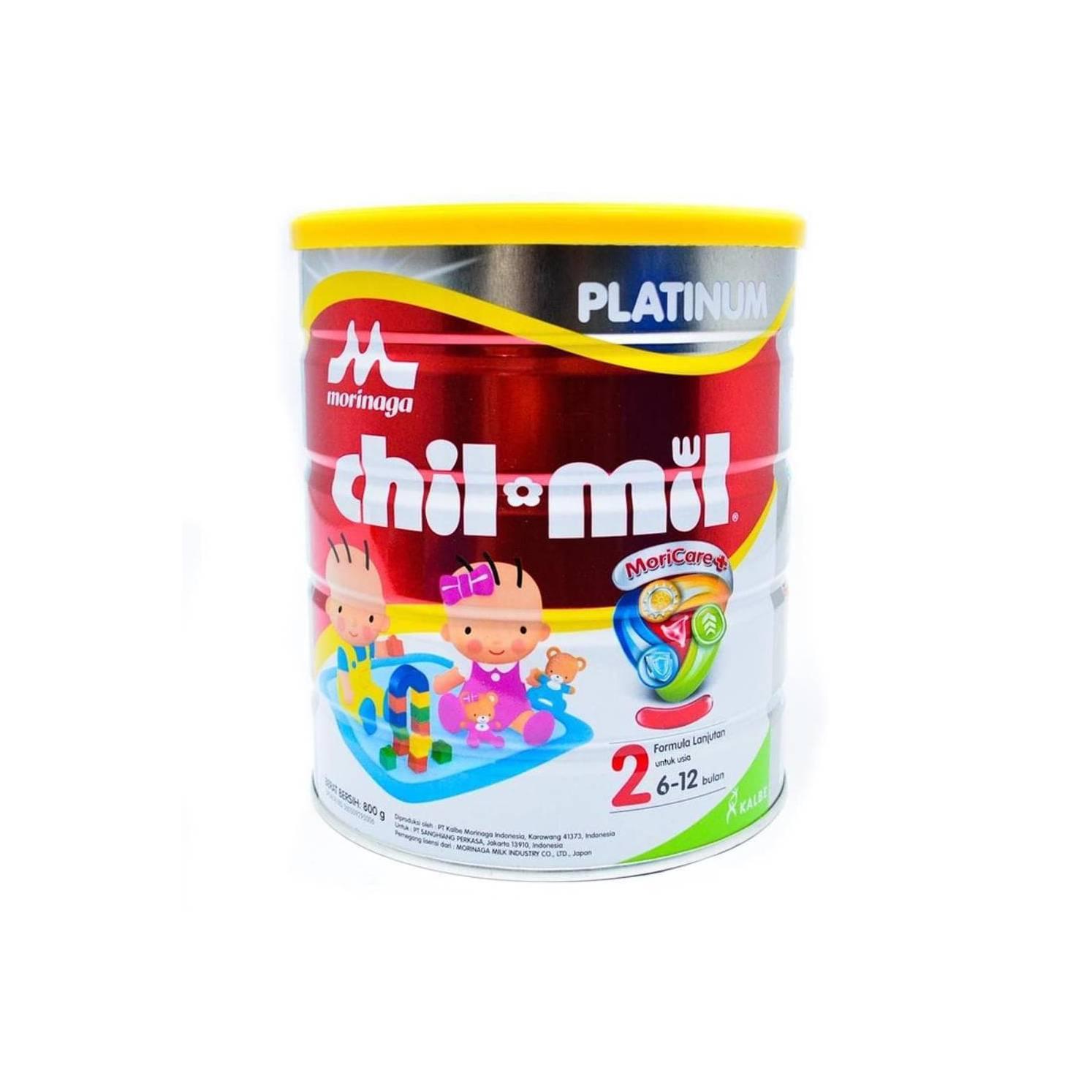 Buy Sell Cheapest Promo Morinaga Bmt Best Quality Product Deals Chil Go Vanilla 6x140 Ml  Free 2 Botol Mil Platinum 800 Gram