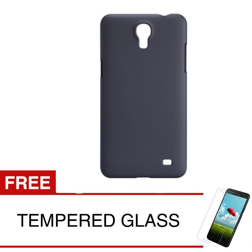 Case for Samsung Galaxy Mega 2 / G750 - Slim Black Matte Hardcase +  Gratis Tempered Glass