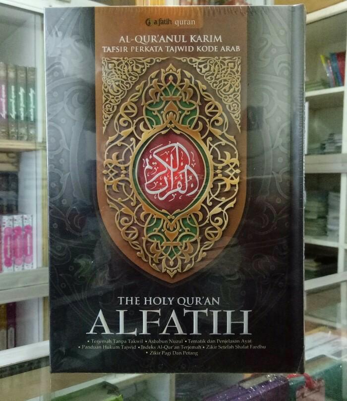 PROMO AlQuran ALFATIH (A4) ukuran Besar, Al-Quran Tajwid Terjemah Per Kata