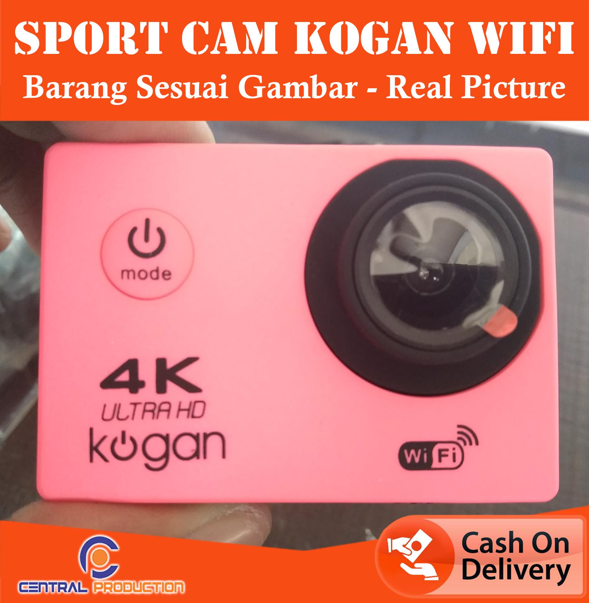 Kamera Sport HD + WIFI / Kamera Selam / Action Cam 4K KOGAN / Sport Cam UPTADE REAL PICTURE