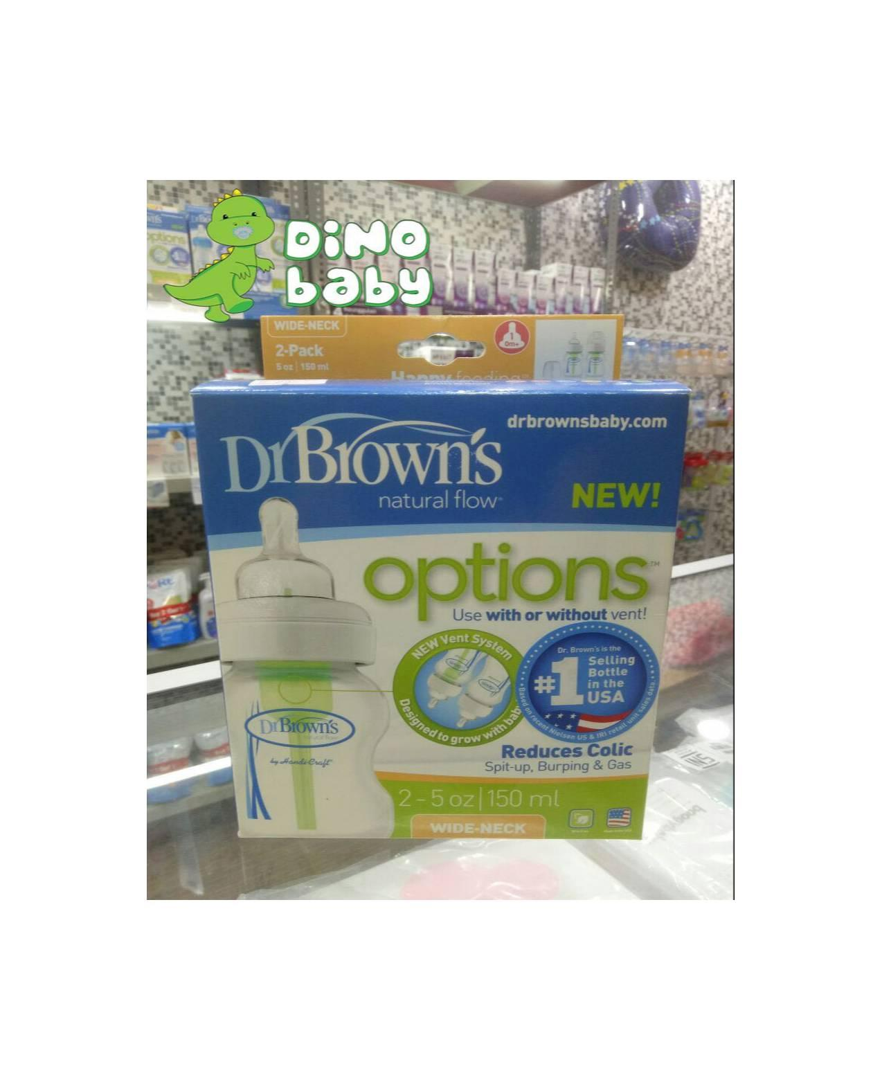 Philips Avent Scf65123 Natural New Spiral Newborn Flow Teats 0m Isi 125ml 2 Dr Brown Botol Susu Wide Neck 150 Ml