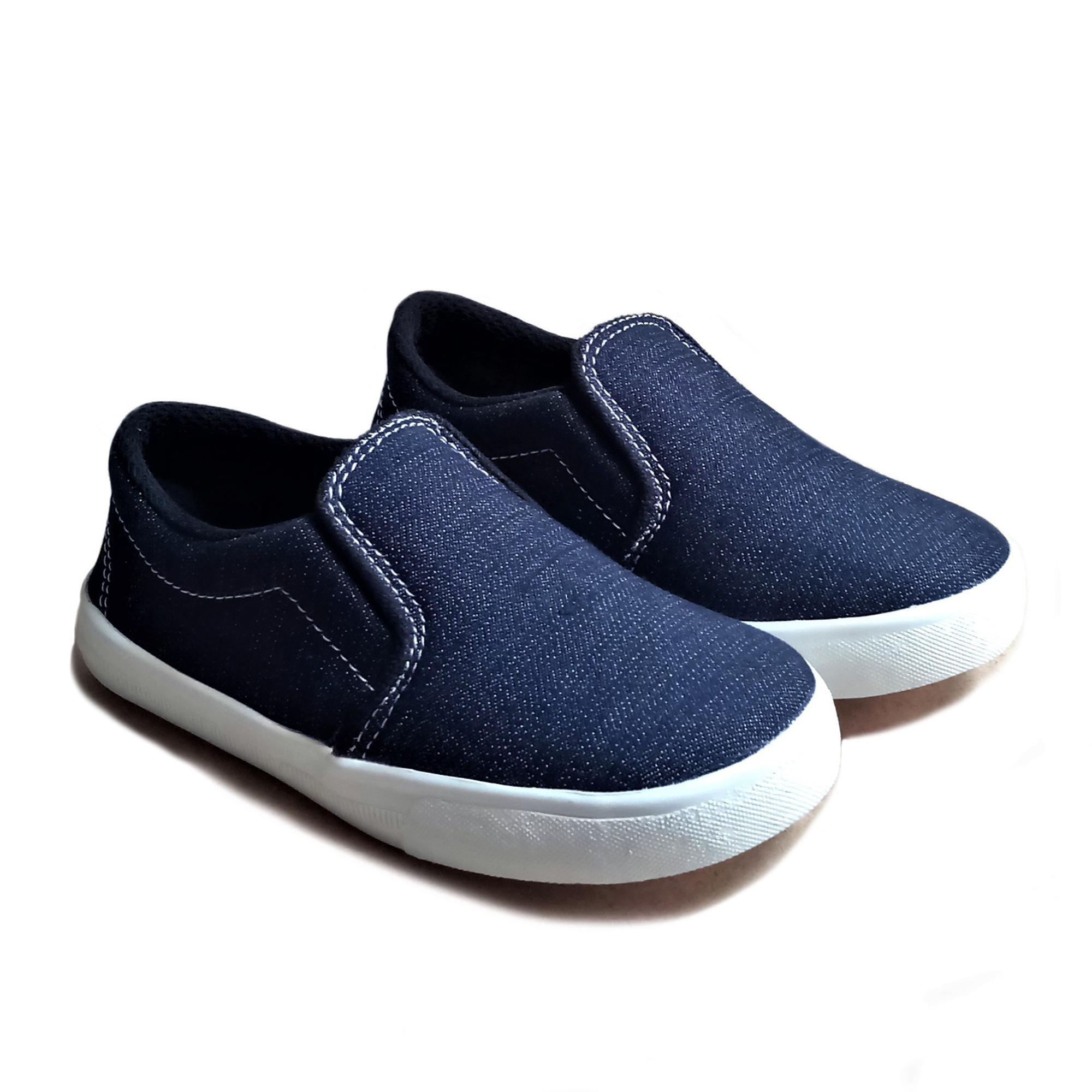 Sepatu Slip On Anak Laki Sandal Balita Perempuan Bayi Dan Cewek  Mickey Seven Denim Mgn