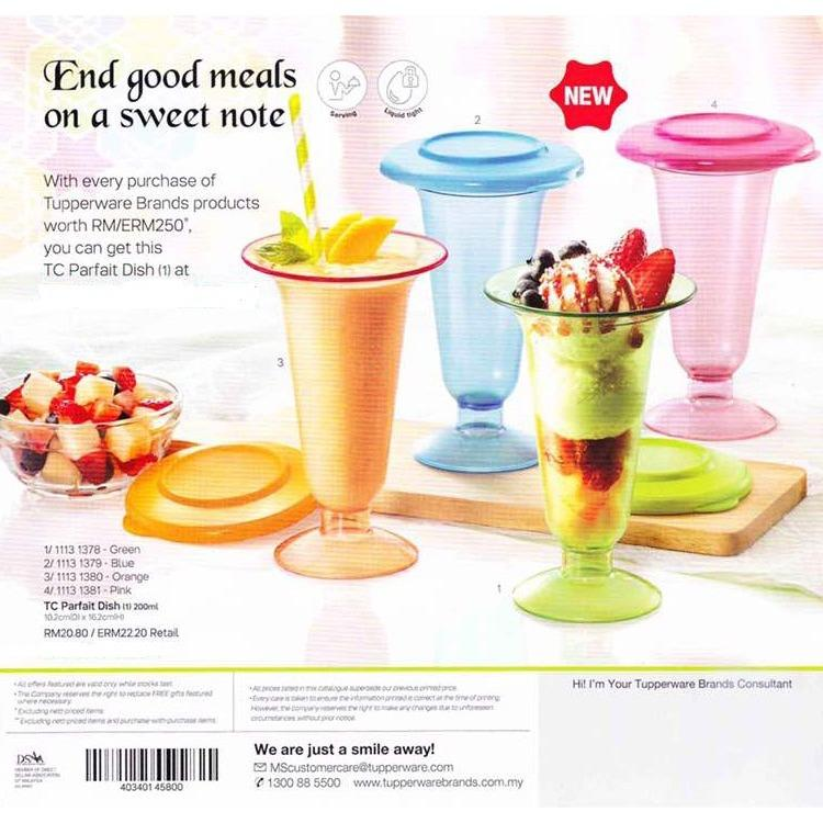 Tupperware TC Parfait - Gelas Minum (4)
