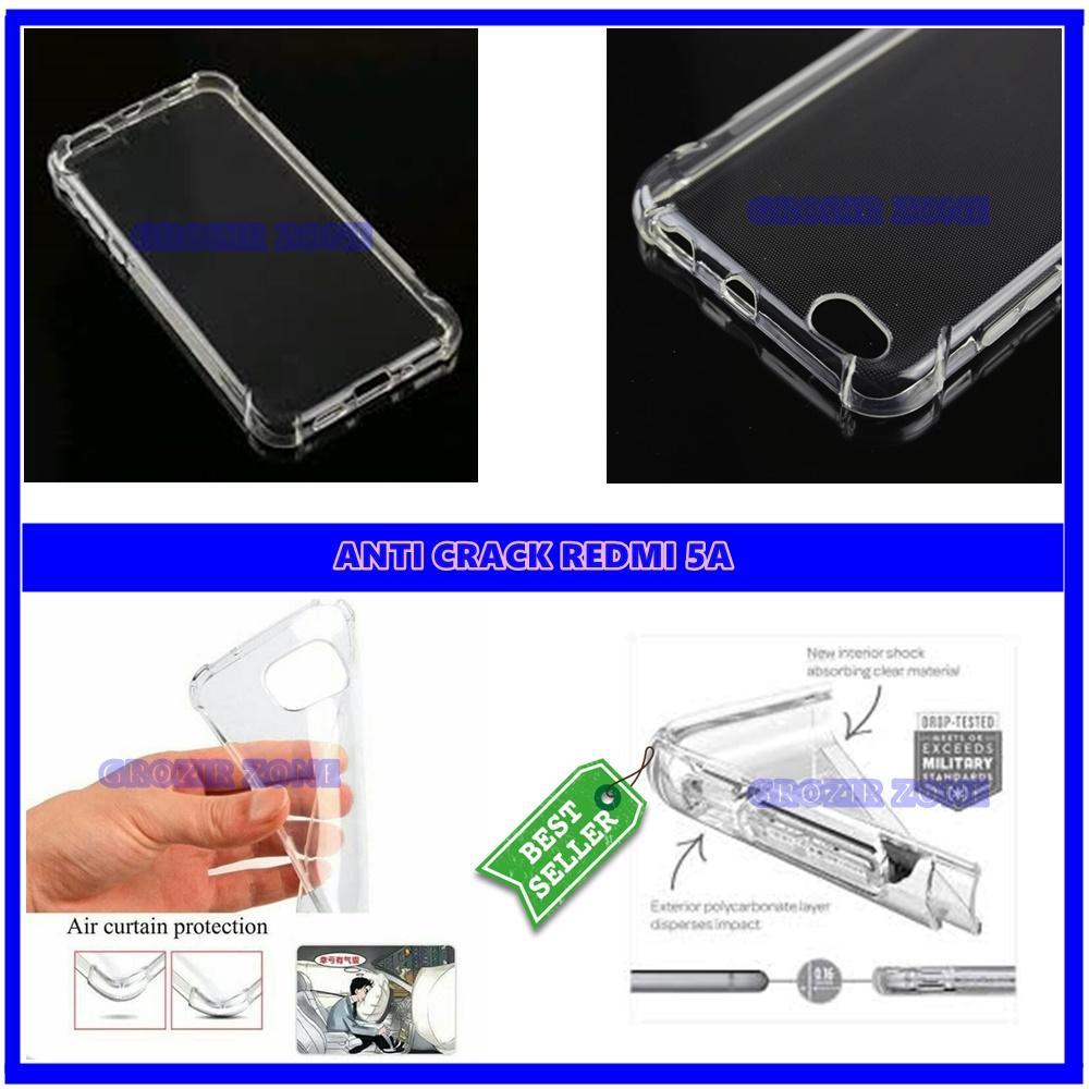 Back Case Soft Jacket / Anti Crack Xiaomi Redmi 5A - Bahan Lebih Bagus ( Grozir zone )