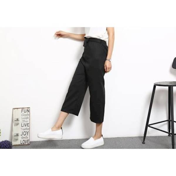 Diskon Terlaris Kulot Cullotes Celana Panjang Bahan Fashion Korea Pakaian Baju Kpop Import Trousers