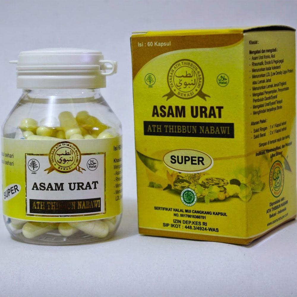 Obat Herbal Asam Urat Super Asli 100% Buatan Ath Thibbun Nabawi - Bekasi Terbukti Ampuh