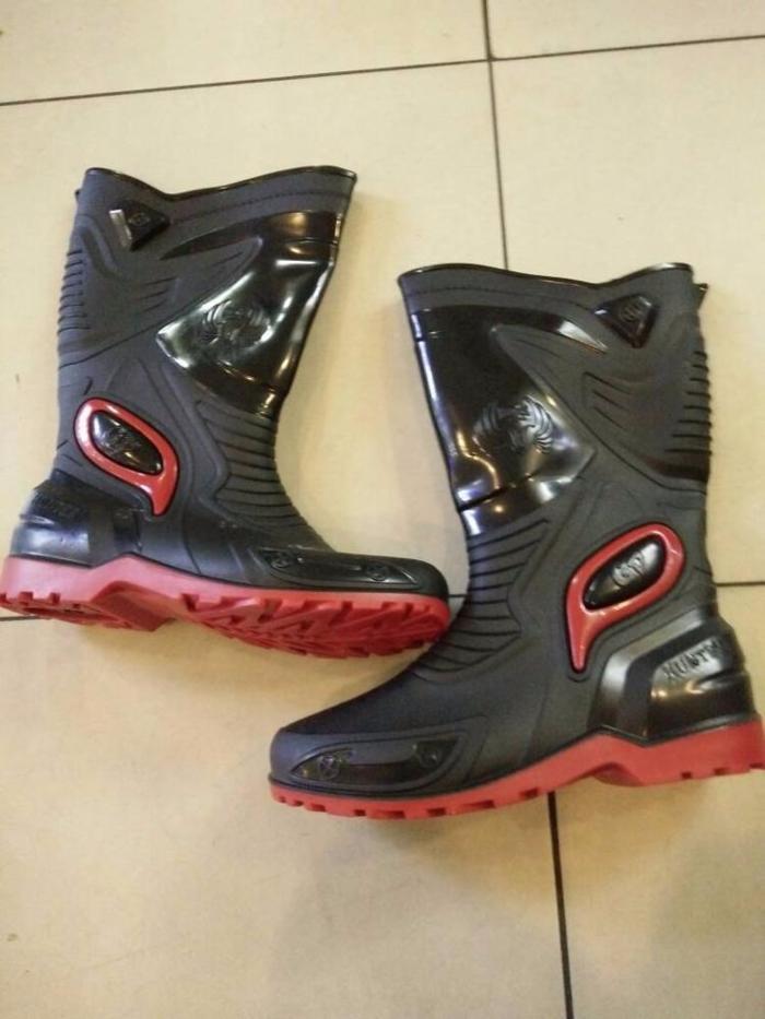 Sepatu Boots Buat di Motor Merk HUNTER Ready